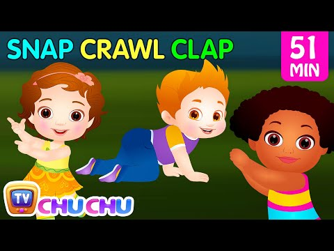 Snap Snap Actions Song  Original Educational Learning Songs & Nursery Rhymes for Kids  ChuChu TV