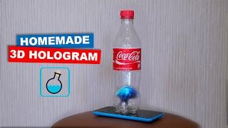 DIY 3D Hologram from a bottle of Coca Cola. LifeHacks   Easy hack