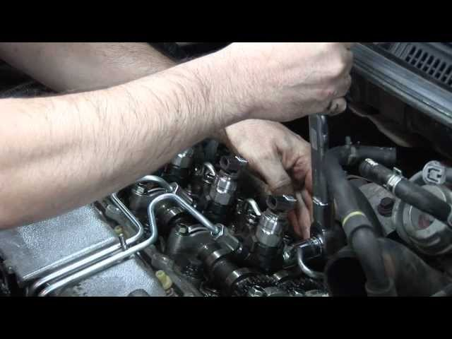 Replacing DENSO Diesel Common Rail Injectors - YouTube