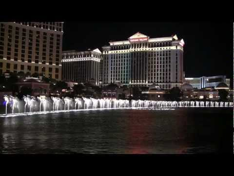 Bellagio Fountains Water Show - Big Spender | Hd video