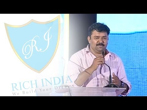 Gopinath Inspirational Speech At Rich India video