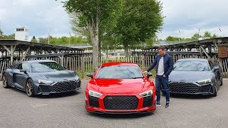 New Audi R8 V10 Decennium (RARE!) 2020... and an R8 world record!