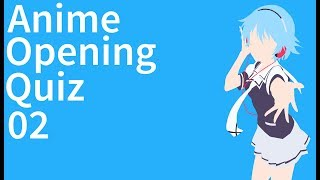 Guess The Anime Opening Quiz #2 | OP1s | Easy/Normal