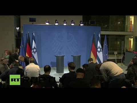 LIVE: Merkel and Netanyahu give joint press conference in Berlin