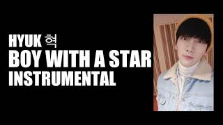 Instrumental Hyuk 혁 Boy With A Star From Vixx