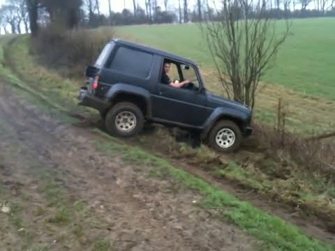 Daihatsu fourtrack off road kent 2012 1