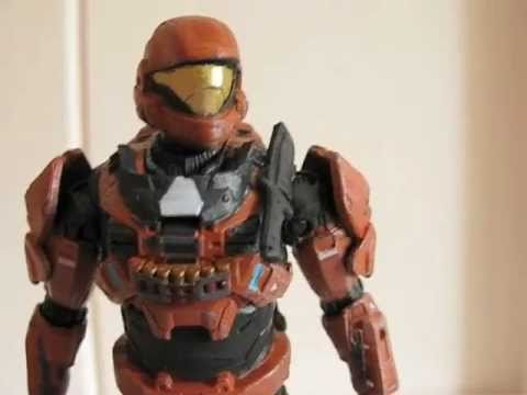 McFarlane Halo Reach Spartan CQC Figure Review