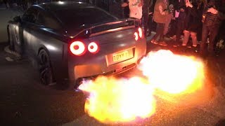 BEST-OF R35 Nissan GT-R compilation 2018!