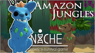 Toxic Secrets from the Jungle Depths!! • Niche: Amazon Jungles Challenge - Episode #7