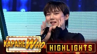 Song-yupsal is back as a guest co-host | It's Showtime KapareWho