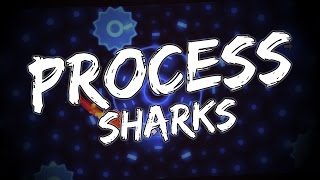 Process by Sharks! Awesome Backgrounds! Geometry Dash 2.1 Level
