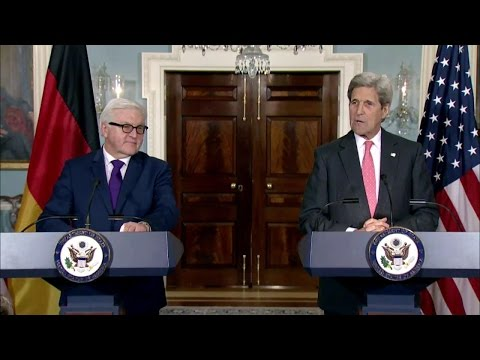 Press Remarks by Secretary Kerry and German Foreign Minister Steinmeier