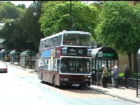 Buses around Gwynedd & Anglesey - May 2010.