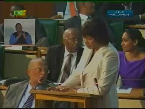 Prime Minister the Most Hon. Portia Simpson Miller 2015/2016 Budget Presentation