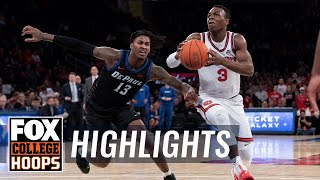 DePaul continues Big East struggles, St. John's wins 74-67 | FOX COLLEGE HOOPS HIGHLIGHTS