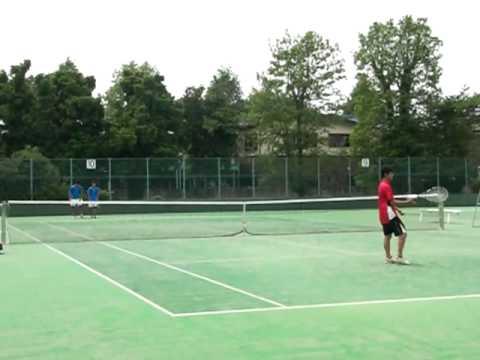 平成21年度  関東高校テニス埼玉県 江本・広岡VS井下・辻本