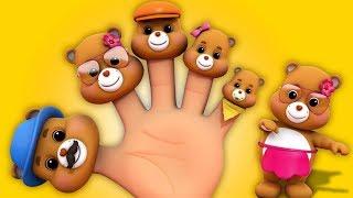 Gấu Bông   Gia Đình Ngón Tay   Vần Điệu Trẻ Con   Teddy Bear Finger Family   Farmees Vietnam