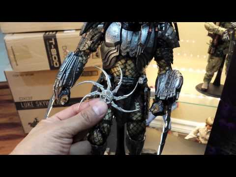 Hot Toys AVP Celtic Predator 2.0 1/6 scale review