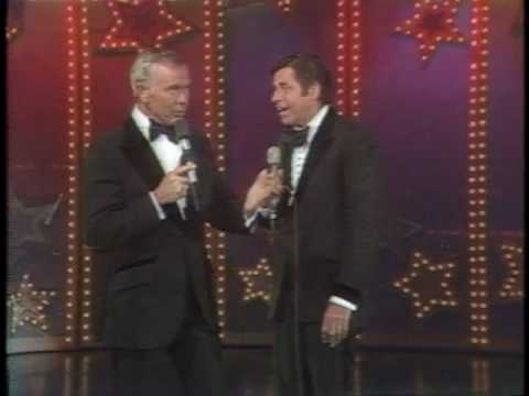 1977 MDA Telethon - Jerry Lewis and Johnny Carson