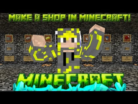 - Minecraft Tutorial - How To Make A Shop In Minecraft Using Command Blocks