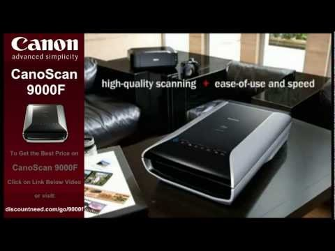 Canon 9000f Review and Best Price on Canon CanoScan 9000F Color Image Scanner