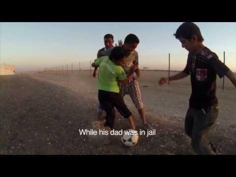 Syria's Refugee Children: Abdallah Football Team