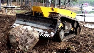 Robot Bulldozer Video (Terramec 1) pretty friggin cool