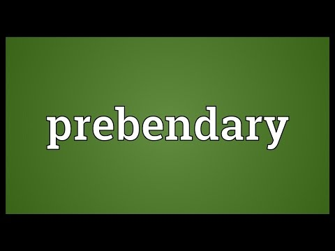 Header of prebendary