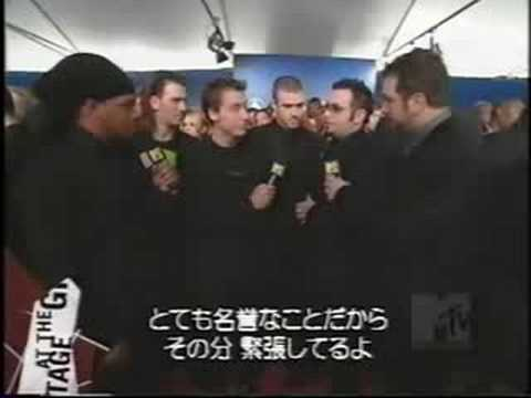 *NSYNC 2003 Interview -Backstage at the Grammys
