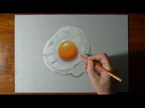 How to draw a perfectly fried egg :)