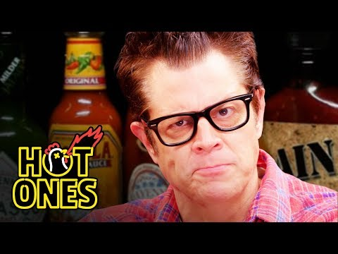 Johnny Knoxville Gets Smoked By Spicy Wings | Hot Ones