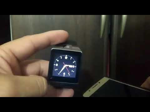 DZ09 como leer los WhatsApp en tu smartwatch