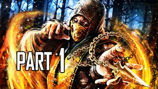 Mortal Kombat X Walkthrough Part 1 - Johnny Cage - World on Fire (MKX Let's Play Commentary)