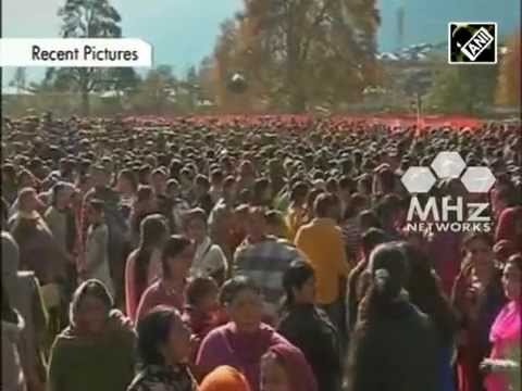 India's Jammu and Kashmir and Jharkhand begin voting in five phase election (SAN - 25 Nov, 2014)