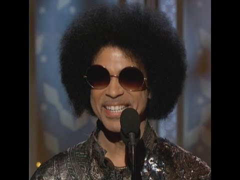 Prince At The Golden Globe Awards 2015 video