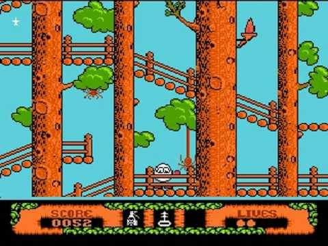 [NES] The Fantastic Adventures of Dizzy by Stobczyk 1/10 (Longplay) (Blue Version) (Polska Wersja)