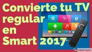 Ver tv por internet - convierte tu tv en smart tv facil con cajas android tv, sin gastar dinero 2017