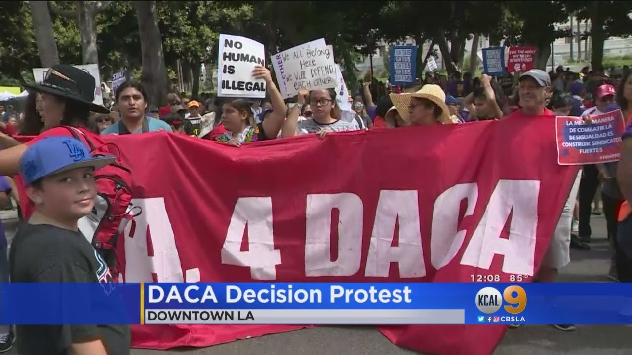More DACA Protests Ahead Of Trump Decision