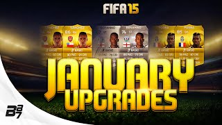 FIFA 15 | MORE JANUARY UPGRADES ON ULTIMATE TEAM!?