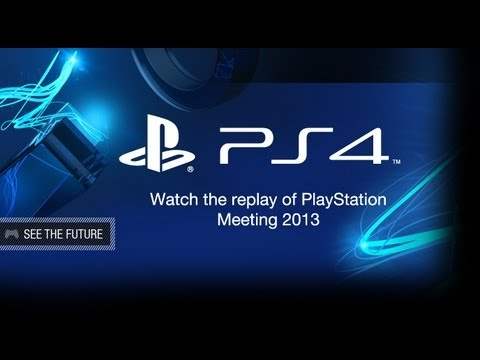 PlayStation 4 PS4 Announcement Live Stream Replay HD