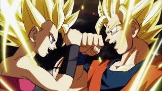 Son Goku vs Caulifla Full Fight English Subbed [1080p]
