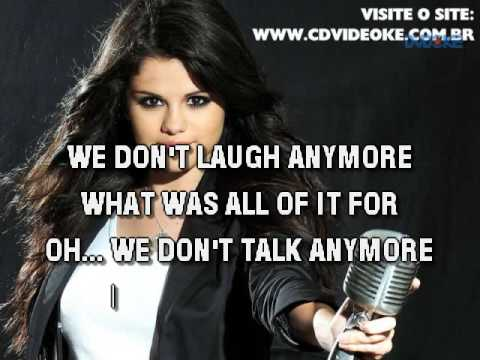 Charlie Puth & Selena Gomez   We Don't Talk Anymore