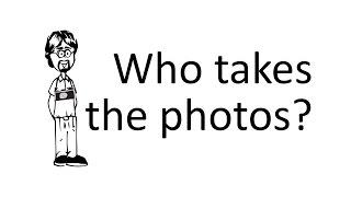 Ask David: Who Takes the Photos?