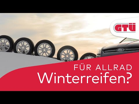 GTÜ-Test: Gute Winterreifen sind auch bei Allradantrieb unabdingbar