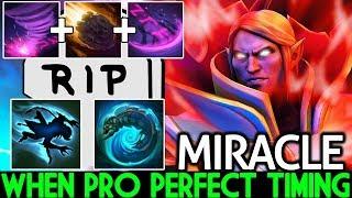 Miracle- [Invoker] When Pro Perfect Timing 100% Auto Kill Weaver 7.21 Dota 2