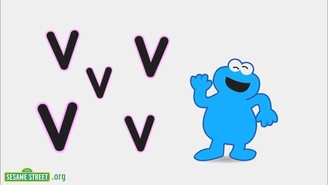 V Is For Violin Sesame Street V Violin Song