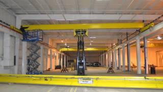 Hoosier Crane Service Company Crane Assembly & Installation Video
