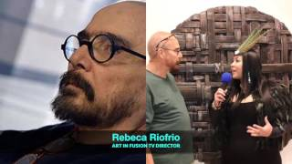 ART IN FUSION TV - Interview with Artist BUBI at the Saatchi Gallery