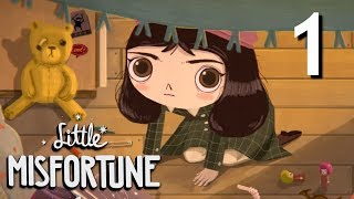 Little Misfortune - Fran Bow SPIRITUAL SEQUEL! Manly Let's Play [ 1 ]