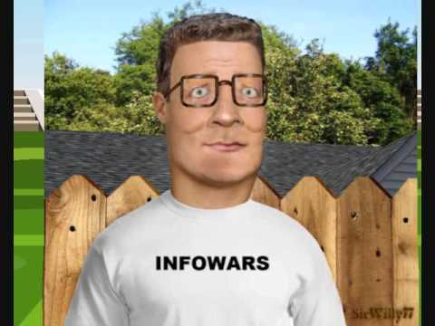 Hank Hill Alex Jones Infowars.com